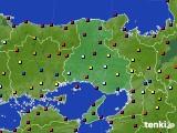 兵庫県のアメダス実況(日照時間)(2020年04月28日)