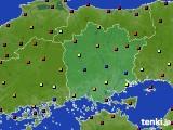 岡山県のアメダス実況(日照時間)(2020年04月28日)