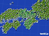 近畿地方のアメダス実況(風向・風速)(2020年04月28日)