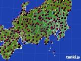 関東・甲信地方のアメダス実況(日照時間)(2020年04月29日)