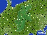 長野県のアメダス実況(気温)(2020年04月29日)