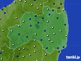 福島県のアメダス実況(風向・風速)(2020年04月29日)