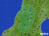 山形県のアメダス実況(風向・風速)(2020年04月29日)