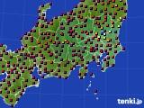 関東・甲信地方のアメダス実況(日照時間)(2020年04月30日)