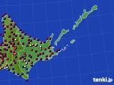 道東のアメダス実況(日照時間)(2020年04月30日)
