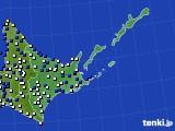 道東のアメダス実況(風向・風速)(2020年04月30日)