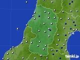 山形県のアメダス実況(風向・風速)(2020年04月30日)