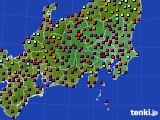 関東・甲信地方のアメダス実況(日照時間)(2020年05月01日)