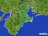 2020年05月01日の三重県のアメダス(日照時間)