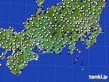 東海地方のアメダス実況(風向・風速)(2020年05月01日)