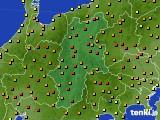 長野県のアメダス実況(気温)(2020年05月02日)