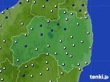 福島県のアメダス実況(風向・風速)(2020年05月02日)