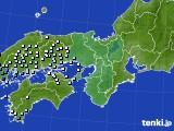 近畿地方のアメダス実況(降水量)(2020年05月03日)
