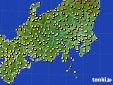 関東・甲信地方のアメダス実況(気温)(2020年05月03日)