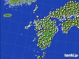 九州地方のアメダス実況(気温)(2020年05月03日)