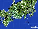 東海地方のアメダス実況(風向・風速)(2020年05月03日)