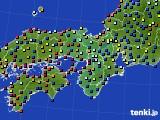 2020年05月04日の近畿地方のアメダス(日照時間)