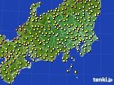 関東・甲信地方のアメダス実況(気温)(2020年05月04日)