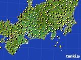 2020年05月04日の東海地方のアメダス(気温)