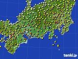 2020年05月05日の東海地方のアメダス(気温)
