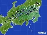 関東・甲信地方のアメダス実況(降水量)(2020年05月06日)