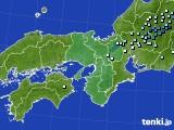 近畿地方のアメダス実況(降水量)(2020年05月06日)
