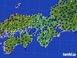 2020年05月06日の近畿地方のアメダス(日照時間)