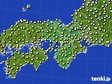 近畿地方のアメダス実況(気温)(2020年05月06日)