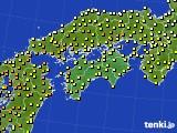 四国地方のアメダス実況(気温)(2020年05月06日)