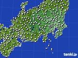 関東・甲信地方のアメダス実況(風向・風速)(2020年05月06日)
