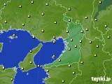 2020年05月07日の大阪府のアメダス(気温)