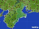 2020年05月08日の三重県のアメダス(日照時間)