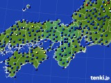 2020年05月10日の近畿地方のアメダス(日照時間)