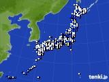 アメダス実況(風向・風速)(2020年05月13日)