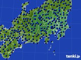 関東・甲信地方のアメダス実況(日照時間)(2020年05月16日)