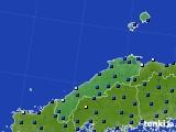 島根県のアメダス実況(日照時間)(2020年05月16日)