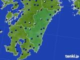 宮崎県のアメダス実況(日照時間)(2020年05月16日)