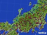 北陸地方のアメダス実況(日照時間)(2020年05月17日)