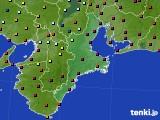 三重県のアメダス実況(日照時間)(2020年05月17日)