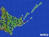 道東のアメダス実況(日照時間)(2020年05月17日)