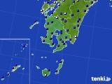 鹿児島県のアメダス実況(日照時間)(2020年05月17日)