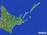 道東のアメダス実況(気温)(2020年05月17日)