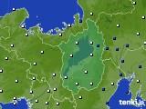滋賀県のアメダス実況(風向・風速)(2020年05月17日)
