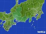 東海地方のアメダス実況(降水量)(2020年05月18日)
