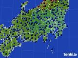 関東・甲信地方のアメダス実況(日照時間)(2020年05月18日)
