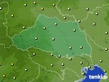 埼玉県のアメダス実況(気温)(2020年05月18日)
