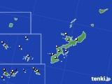 沖縄県のアメダス実況(降水量)(2020年05月19日)