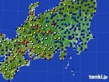 関東・甲信地方のアメダス実況(日照時間)(2020年05月19日)