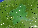 群馬県のアメダス実況(風向・風速)(2020年05月19日)