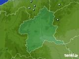 群馬県のアメダス実況(降水量)(2020年05月20日)
